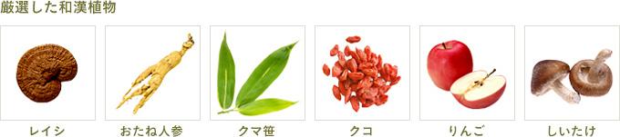 厳選した和漢植物