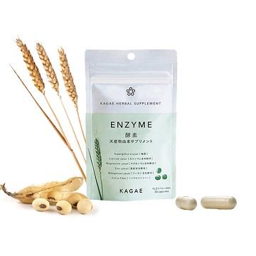 豊富な種類の酵素を含有する麹菌ベースのサプリメント